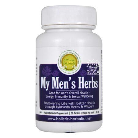 Май Менс Хербс (My Men's Herbs, Holistic Herbalist) ॐ Бутик ROSA