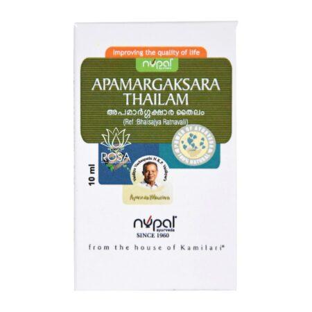 Nupal Remedies Apamargaksara Thailam 1