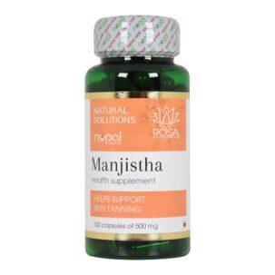 Nupal Remedies Manjistha Capsules 1