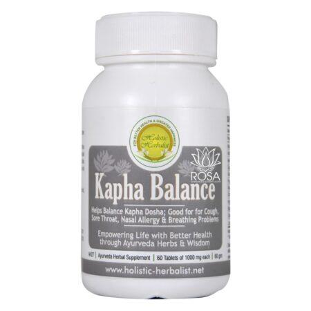 Капха Баланс (Kapha Balance, Holistic Herbalist) ॐ ROSA PHARM