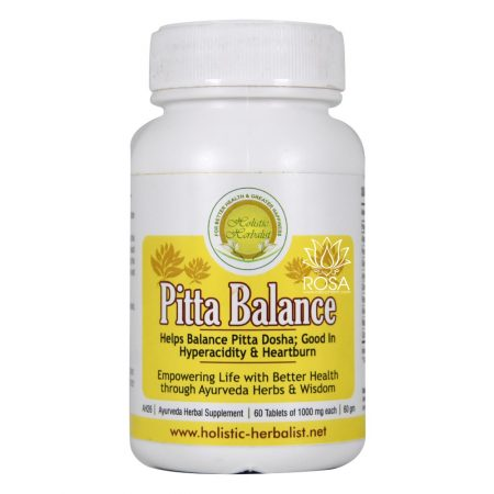 Питта Баланс (Pitta Balance, Holistic Herbalist) ॐ ROSA PHARM