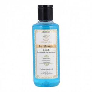 Шампунь для волос Зеленое Яблоко Кондиционер Khadi Natural | ROSA