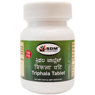 Трифала (Triphala Tablets DS, SDM) купить в Бутике аюрведы премиум качества ROSA