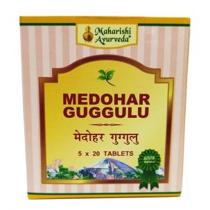 Медохар Гуггул (Medohar Guggulu box, Maharishi Ayurveda) купить в бутике аюрведы ROSA