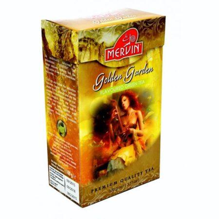 Цейлонский зеленый чай Золотой Сад Golden Garden Mervin купить в Бутике аюрведы