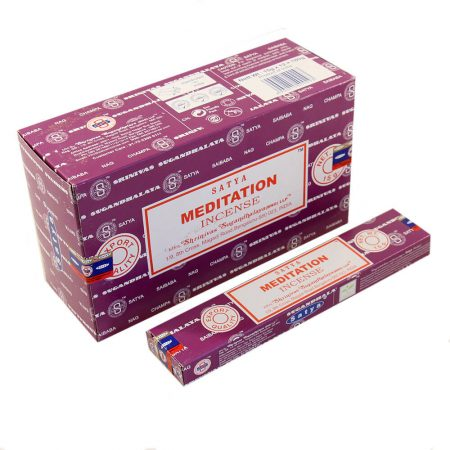 Ароматические палочки Медитация Сатья (Meditation Satya) купить в Бутике аюрведы