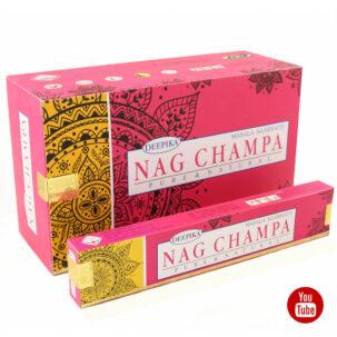 Ароматические палочки Наг Чампа (Nag Champa, Deepika) 15 штук купить в Бутике