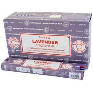 Благовония Лаванда (Lavanda Insence, Satya) 15 штук купить в Бутике аюрведы