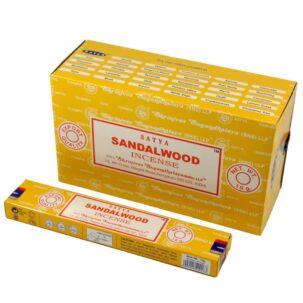 Благовония сандалового дерева Сатья (Sandalwood, Satya) купить в Бутике аюрведы