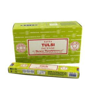 Благовония Тулси (Tulasi Masala Insence, Satya) купить в Бутике аюрведы премиум качеств