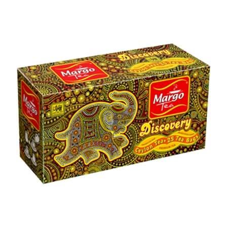 Элитный цейлонский чай Discovery Margo купить в Бутике аюрведы премиум качества ROSA