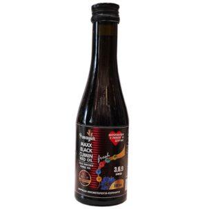 Масло чёрного тмина Black Cumin Seed Oil Panayur купить в Бутике аюрведы