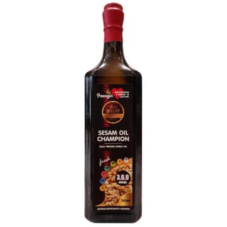 Масло Кунжутное Cold Pressed Sesam Oil Panayur купить в Бутике аюрведы премиум