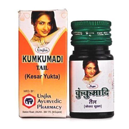Масло для лица кумкумади с шафраном Unjha купить в Бутике аюрведы