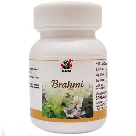 Брахми капсулы (Brahmi Capsules, SDM) купить в Бутике аюрведы премиум качества ROSA
