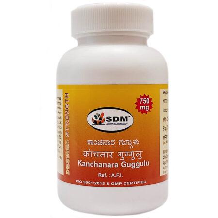 Канчнара гуггул СДМ (Kanchanara Guggulu DS, SDM) купить в Бутике аюрведы