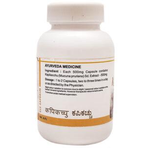 Капикачху капсулы (Kapikachhu Capsules, SDM) купить в Бутике аюрведы премиум качества