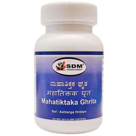 Махатиктака гритам (Mahatiktaka Ghrita, SDM) купить в Бутике аюрведы премиум качества