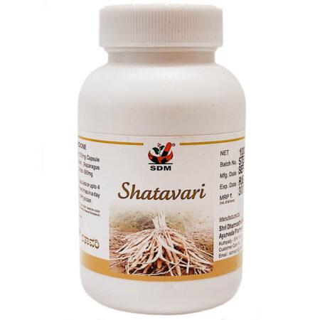 Шатавари Капсулы (Shatavari Capsules, SDM) купить в Бутике аюрведы премиум качества