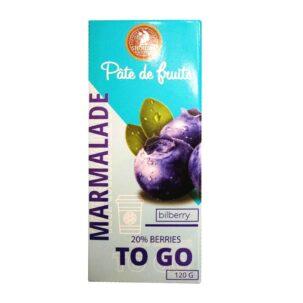 Мармелад Черника To Go Pate de Fruits купить в Бутике аюрведы премиум качества ROSA