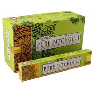 Благовония Свежий Пачули Pure Patchouli Deepika купить в Бутике аюрведы