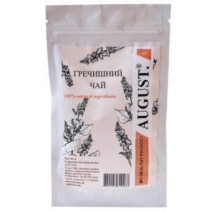 Гранулированный гречишный чай August купить в Бутике аюрведы премиум качества ROSA