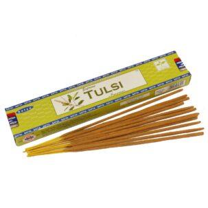 Ароматические палочки Tulsi Satya купить в Бутике аюрведы премиум качества ROSA