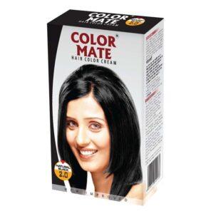 Краска-крем Black 2.00 от COLOR MATE купить в Бутике аюрведы премиум качества ROSA