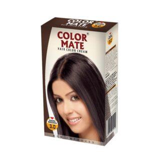 Краска-крем Dark Brown 3.00 от COLOR MATE купить в Бутике аюрведы премиум качества