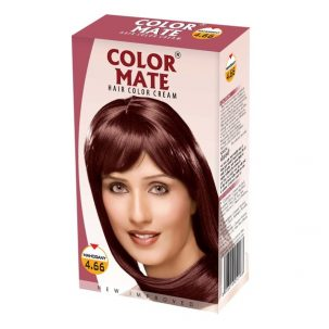 Краска-крем Mahagony 4,66 от COLOR MATE купить в Бутике аюрведы премиум качества