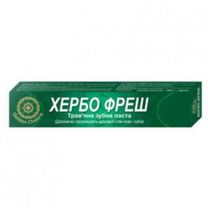 Хербофрэш зубная паста Golden Chakra купить в Бутике аюрведы премиум качества ROSA