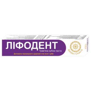Лифодент зубная паста Golden Chakra купить в Бутике аюрведы премиум качества ROSA