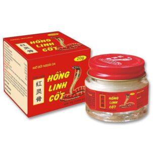 Бальзам со змеиным ядом Хонг Линь Кьот (Hong Linh Cot) купить в Бутике аюрведы премиум