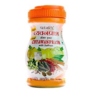 Чаванпраш с шафраном Патанджали (Chyawanprash with saffron) купить в Бутике