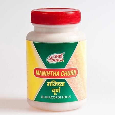Манджишта чурна (Manihtha churna, Shri Ganga) купить в Бутике аюрведы премиум качества