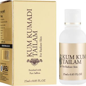 Омолаживающее масло для лица Кумкумади Vasu купить в Бутике аюрведы премиум